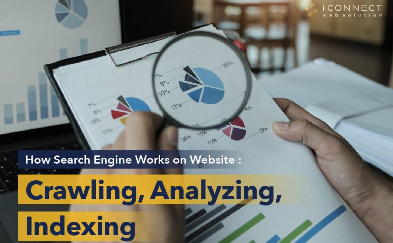 crawling, analyzing, indexing